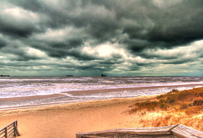 Photograph - Seaside Storm by Pete Federico