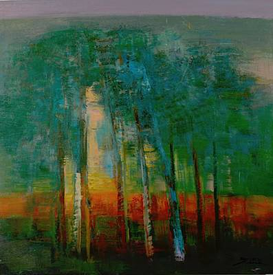 Inverted Painting - season No.5 by Zheng Li