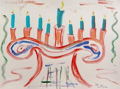 Season Of The Lights Original by Mary Carol Williams