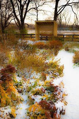 Photograph - Season Split by Edward Peterson