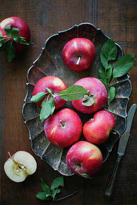 Plant Photograph - Seasonal Apples by Ingwervanille