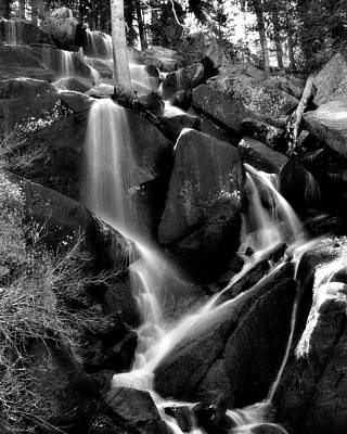Photograph - Seasonal Cascades by Lana Trussell