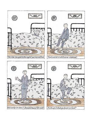 Bed Digital Art - Seasonal Confusion by Edward Gorey