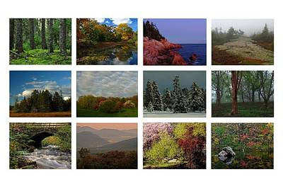 Photograph - Seasonal Greetings From New England  by Juergen Roth