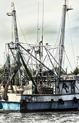 Photograph - Seasoned Fishing Boat by Debra Forand