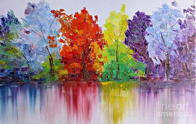 Painting - Seasons by AmaS Art