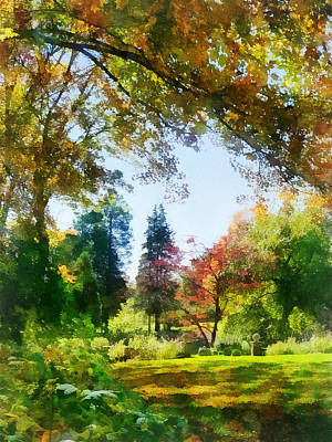 Photograph - Seasons - Autumn Vista by Susan Savad