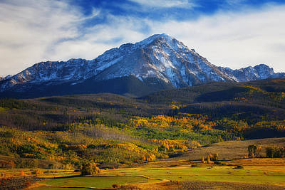 Autumn Scene Photograph - Seasons Change by Darren  White