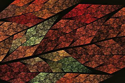 Crystalline Digital Art - Seasons Change by Doug Morgan
