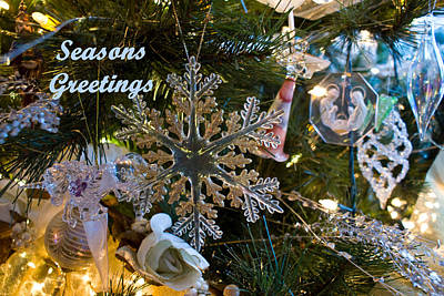 Photograph - Seasons Greetings Card 2 by Joanne Smoley