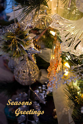Photograph - Seasons Greetings Card by Joanne Smoley
