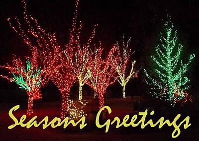 Seasons Greetings Art Print by Darren Robinson
