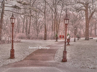 Photograph - Season's Greetings by David Bearden