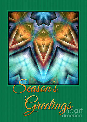 Digital Art - Seasons Greetings by Gabriele Pomykaj