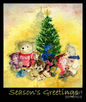 Painting - Season's Greetings by Melly Terpening