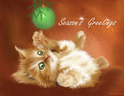 Season's Greetings Art Print