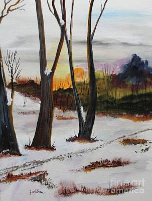 Seasons Art Print by Jack G  Brauer