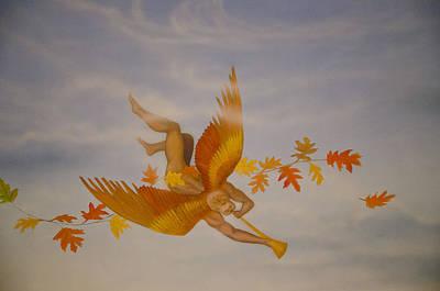 Painting - Seasons Mural by David Martorelli