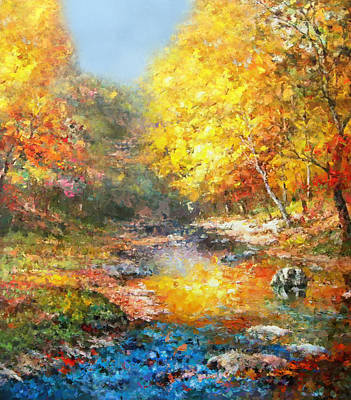 Painting - Seasons Of Life by Georgiana Romanovna