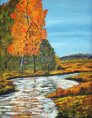 Painting - Seasons Splendor by Jack G  Brauer