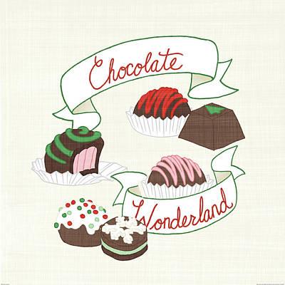 Candy Painting - Seasons Sweetings IIi by Elyse Deneige