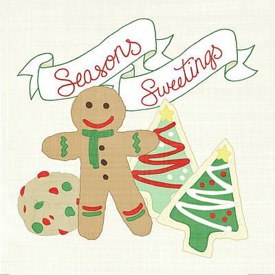 Candy Painting - Seasons Sweetings Iv V2 by Elyse Deneige