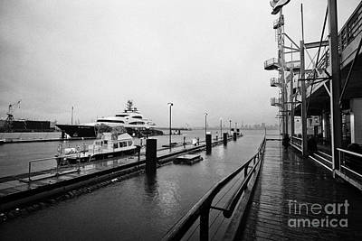 seaspan marine tugboat dock city of north Vancouver BC Canada Art Print by Joe Fox