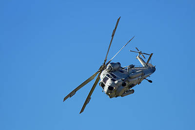 Helicopter Photograph - Seasprite Helicopter, (kaman Sh 2g by David Wall