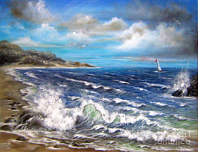Painting - Goodbye Blue Sky by Patrice Torrillo