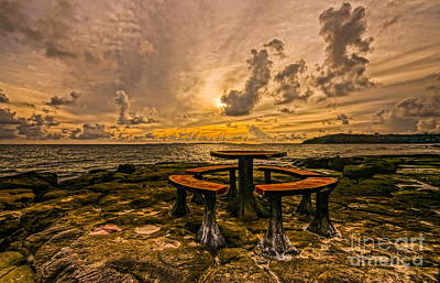 Photograph - Seat And Rilex by Arik S Mintorogo