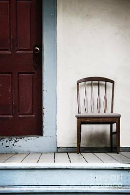 Seat By Door Art Print by Margie Hurwich