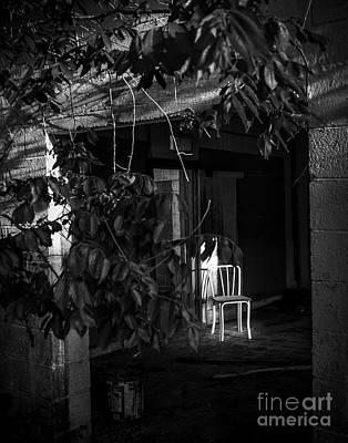 Photograph - Seat By The Door by Ken Frischkorn