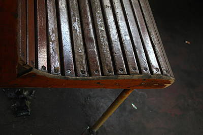 Argentina Photograph - Seat by Jerry  Nelson