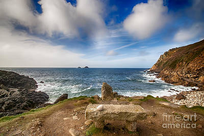 Roaring Red - Seat with a view Cot Valley Cornwall by Chris Thaxter