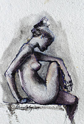 Seated Nude Original
