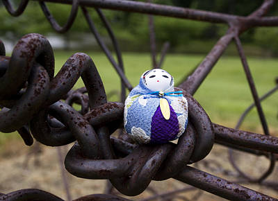 Doll Photograph - Seated On Knots Of Metal by William Patrick