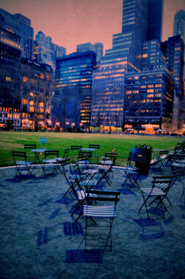 Photograph - Seats In The City by Emily Stauring