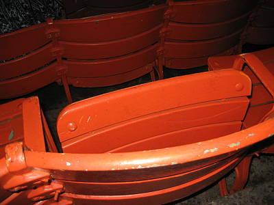 Seated Photograph - Seats - Nationals Park - 01132 by DC Photographer