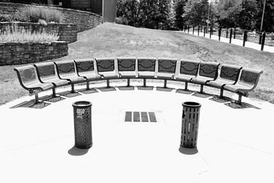 Seats Still Available Bw Art Print by Elizabeth Sullivan