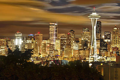Photograph - Seattle by Chris Reed