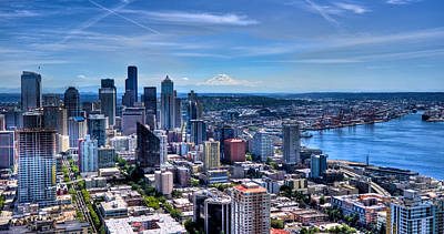 Photograph - Seattle Cityscape by Jonny D