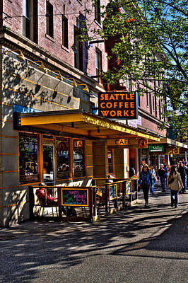 Photograph - Seattle Coffee Works II - Seattle Washington by David Patterson