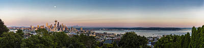 Photograph - Seattle Elliot Bay Panorama Huge by Scott Campbell