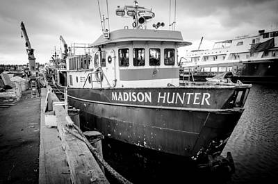 Seattle Photograph - Seattle Fisherman Wharf by Puget  Exposure