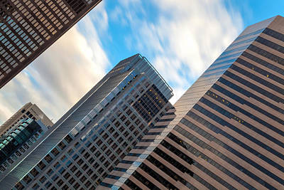Photograph - Seattle High Rises by Jonathan Nguyen