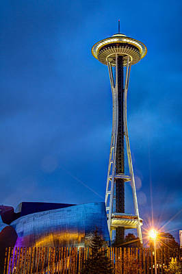Art Print featuring the photograph Seattle Impressions by Wade Brooks