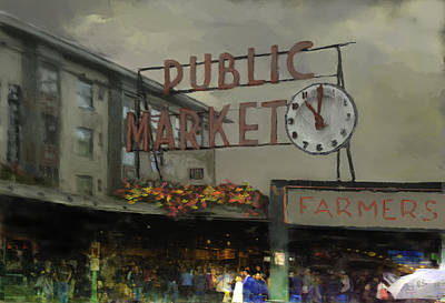 Photograph - Seattle Landmark by Dale Stillman