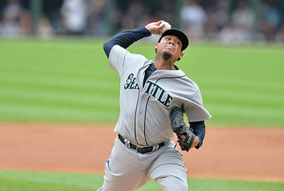 Photograph - Seattle Mariners V Chicago White Sox by Brian Kersey