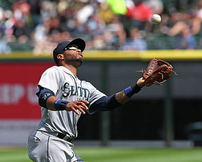 Photograph - Seattle Mariners V Chicago White Sox by Jonathan Daniel