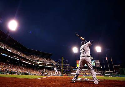 Photograph - Seattle Mariners V Pittsburgh Pirates by Justin K. Aller